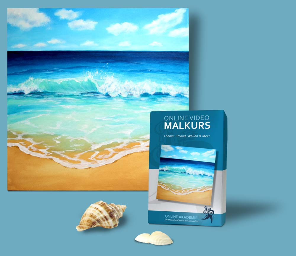 video malkurs wellen und meer